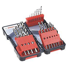 Bosch HSS-G Drill Bits 18 Piece Set