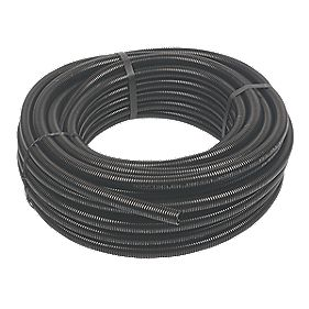 Adaptaflex Standard Weight Nylon Conduit 21mm x 25m Black