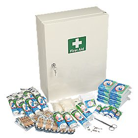 Wallace Cameron Complete 50 Person First Aid Cabinet