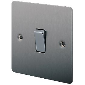 LAP 10AX Intermediate Switch Brushed Stainless Steel