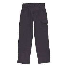 "Dickies Redhawk Ladies Trousers Size 12 31"" L"