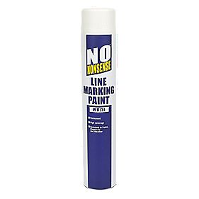 No Nonsense Line Marking Paint White 750ml