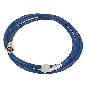"Washing Machine Inlet Hose Blue 2.5m x ¾"" BSP"