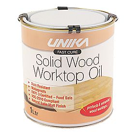 Unika Solid Wood Worktop Oil 1Ltr