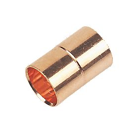 Straight Coupler End Feeds 10mm Pack of 2