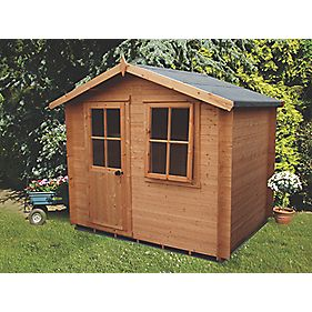 Shire Avesbury 1 Tongue & Groove Log Cabin 2 x 2 x 2.2m