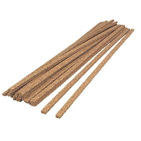 Stikatak Cork Expansion Gap Inserts Brown Pack of 18