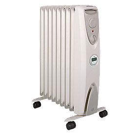 Dimplex OFRC20Tic Eco Column Oil-Free Portable Heater 2kW with Timer