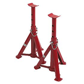 3-Tonne Folding Axle Stands Pair