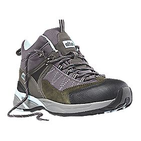 Site Ladies Safety Trainer Boots Grey Size 6
