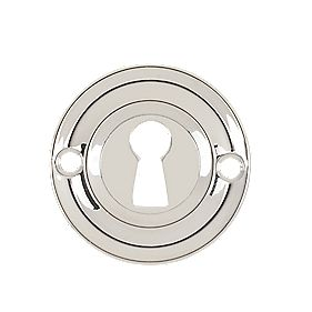 Carlisle Brass Standard Key Escutcheon Polished Chrome 42mm