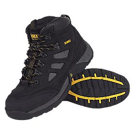 DeWalt Velocity Safety Trainer Boots Black Size 10 + Free Bag
