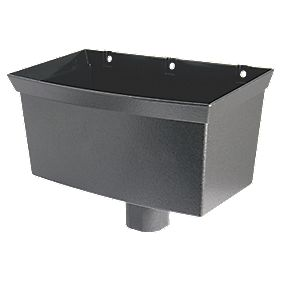 FloPlast Cast Iron Effect Universal Hopper