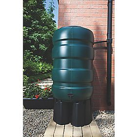 Whitefurze Water Butt & Accessory Kit Green 230Ltr
