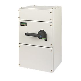 Crabtree 200A TPN Fuse Combination unit without Fuse