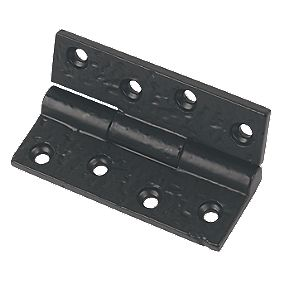 Steel Butt Hinge Antique Black 75 x 52mm Pack of 2