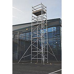 Lyte SF18DW77 Helix Double Width Industrial Tower 7.7m