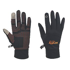 Scruffs Active Smart Phone Gloves Black Large