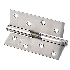 Eclipse Rising Hinge Left Hand Satin Stainless Steel 76 x 102mm Pack of 2