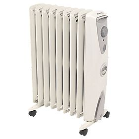 Dimplex OFRC20TiN Oil-Free Portable Column Radiator with Timer 2kW