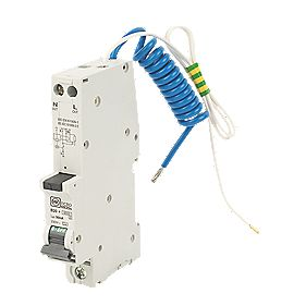 MK Sentry 20A 30mA SP Type B Curve RCBO