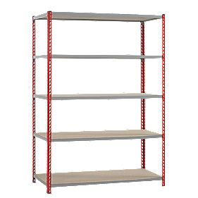 Just Standard Duty Shelving 4-Tier Tier