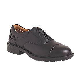 City Knights Oxford Executive Safety Shoes Black Size 7