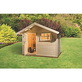 Finnlife Suvi 212 Log Cabin 2.7 x 2.7 x 2.5m