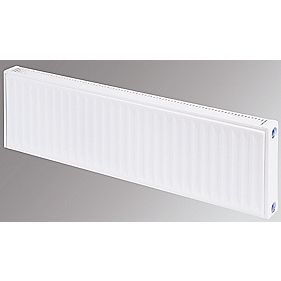 Flomasta Type 11 Single Panel Single Convector Radiator White 300 x 1800mm