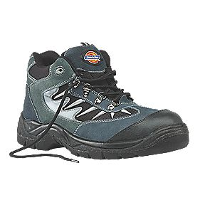 Dickies Storm Safety Trainers Grey / Black Size 7