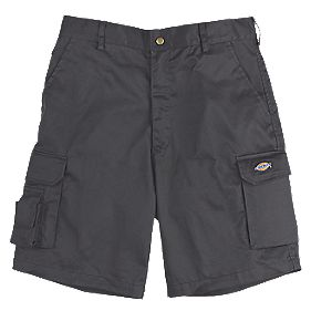 "Dickies Redhawk Multi-Pocket Shorts Black 32"" W"