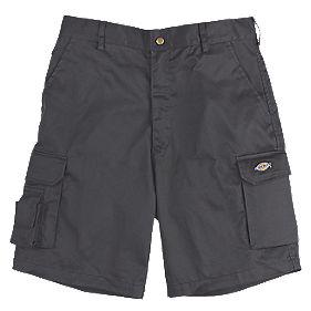 "Dickies Redhawk Multi-Pocket Shorts Black 32"" W"