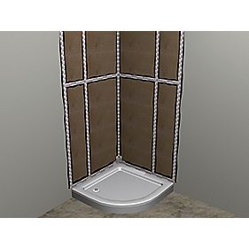 Wetroom Wall Panelling Kit 4.35m