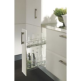Hafele 150mm Pull-Out Unit Chrome-Plated