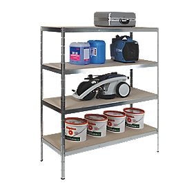 RB UK XXL Heavy Duty Freestanding Shelving 1600 x 600 x 1800mm