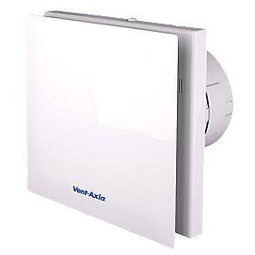 Vent Axia Vasf100b 4 3w Silent Axial Bathroom Extractor