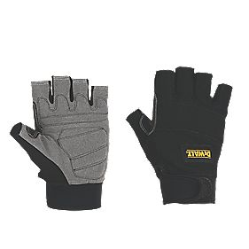 DeWalt Specialist Handling Fingerless Gloves Black Large
