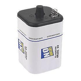 No Nonsense 4R25 Zinc Carbon Battery 6V