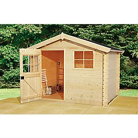 Finnlife Lampi 212 Log Cabin 2.6 x 2.6 x 2.1m