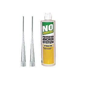 No Nonsense Polyester Styrene-Free Resin 380ml