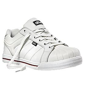 Site Shale Safety Trainers White Size 9
