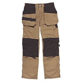 "Scruffs Trade Trousers Brown 40"" W 31"" L"