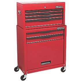 Hilka Pro-Craft 8-Drawer Combination Set with Ball Bearing Slides