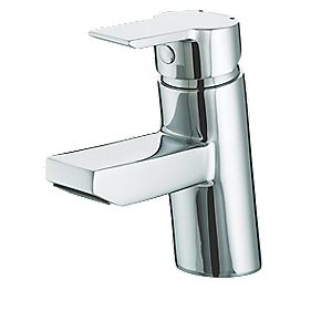 Bristan Pisa Mono Basin Mixer Tap with Click Waste