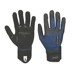 Ansell ActivArmr ActivArmr Plumbers Gloves Blue / Black Large