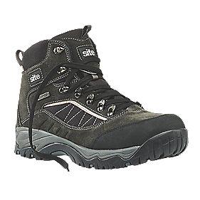 Site Quartz Safety Boots Grey Size 11