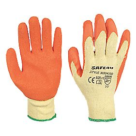 General Handling Builders Gloves Orange Large