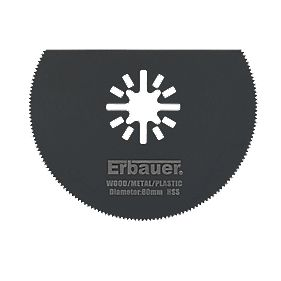 Erbauer HSS Multi-Cutter Segment Saw Blade 80mm