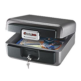 Sentry Safe 10.4Ltr Waterproof Fire Safe Chest Medium 394 x 394 x 198mm