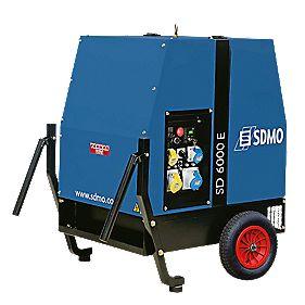 SDMO SD6000E-2 5200W Generator 115/230V